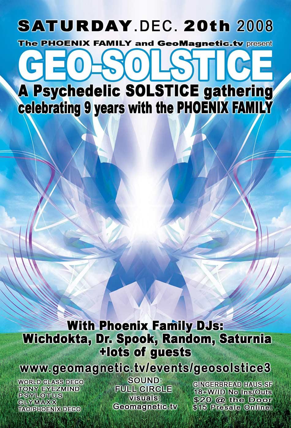 geo-solstice flyer